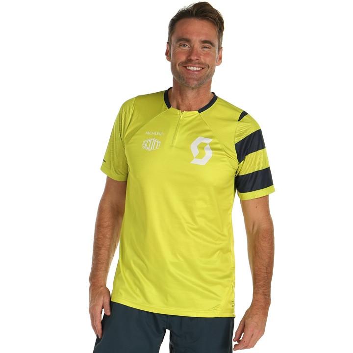 SCOTT Fietsshirt Trail Vertic Zip bikeshirt, voor heren, Maat XL, Wielershirt, F
