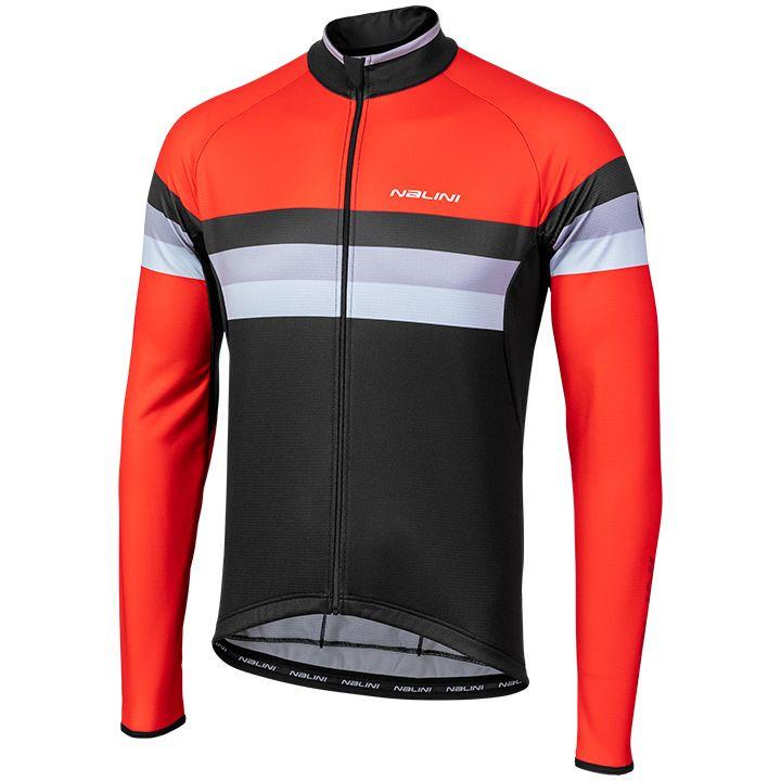 NALINI Shirt met lange mouwen Logo 2.0 fietsshirt met lange mouwen, voor heren,