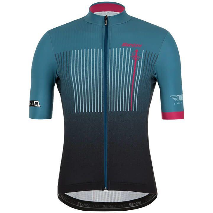 La Vuelta Toledo 2019 fietsshirt met korte mouwen fietsshirt met korte mouwen, v