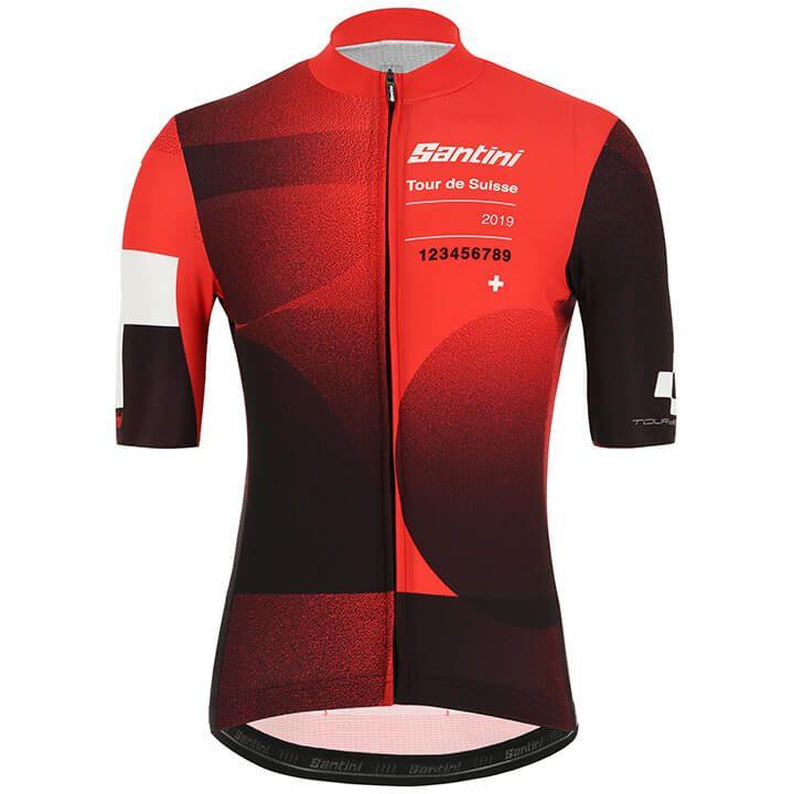Tour de Suisse 2019 Cross fietsshirt met korte mouwen fietsshirt met korte mouwe