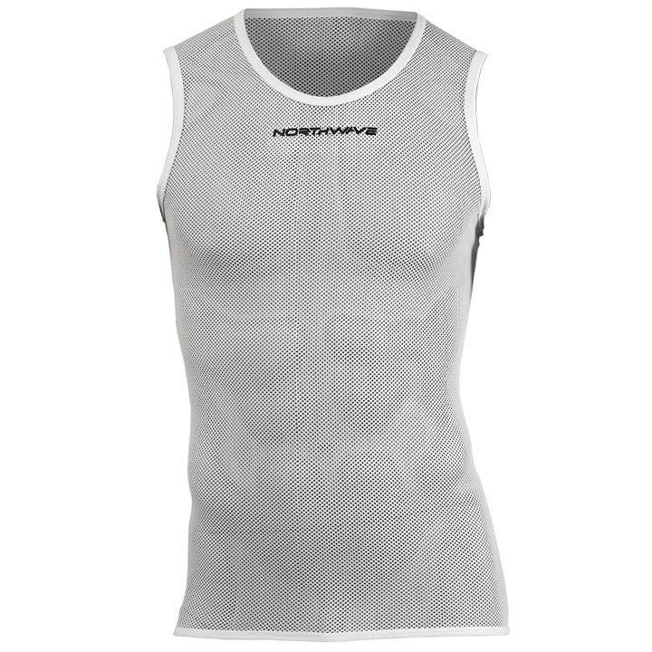 NORTHWAVE fietsondershirt zonder mouwen Light wit onderhemd, voor heren, Maat