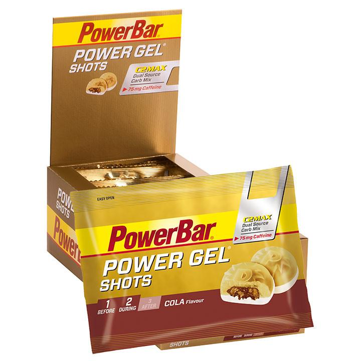 POWERBAR Gel Shots Cola+Koffein 16 Stck./Box, E...