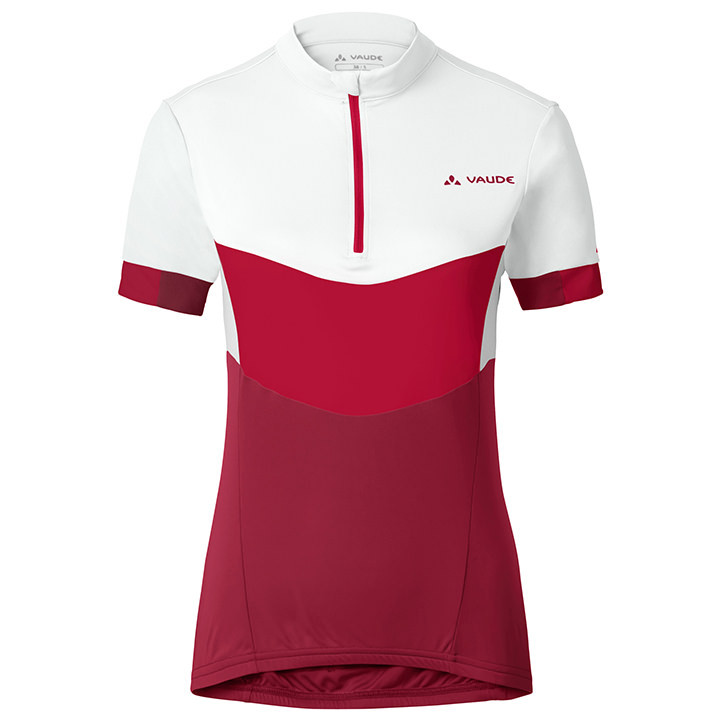 VAUDE dames shirt Advanced II damesfietsshirt, Maat 38, Wielrenshirt,
