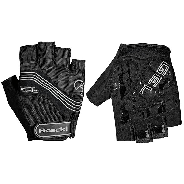 ROECKL Imajo, zwart handschoenen, voor heren, Maat 7, Fietshandschoenen, Wielren