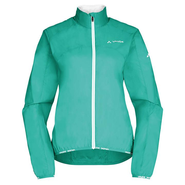 VAUDE Air II, groen dameswindjack, Maat 36, Fiets jas, Fietskledij