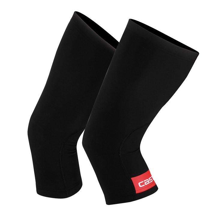 CASTELL Thermoflex, zwart-rood kniestukken, voor heren, Maat XL, Kniewarmer, Wie