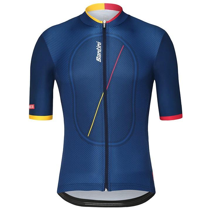 La Vuelta KM Cero 2018 fietsshirt met korte mouwen fietsshirt met korte mouwen,