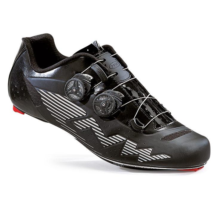 NORTHWAVE race fietsschoenen Evolution Plus zwart raceschoenen, voor heren, Maat