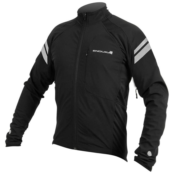 ENDURA winterjack Windchill II zwart Thermojack, voor heren, Maat S, Fiets jas,