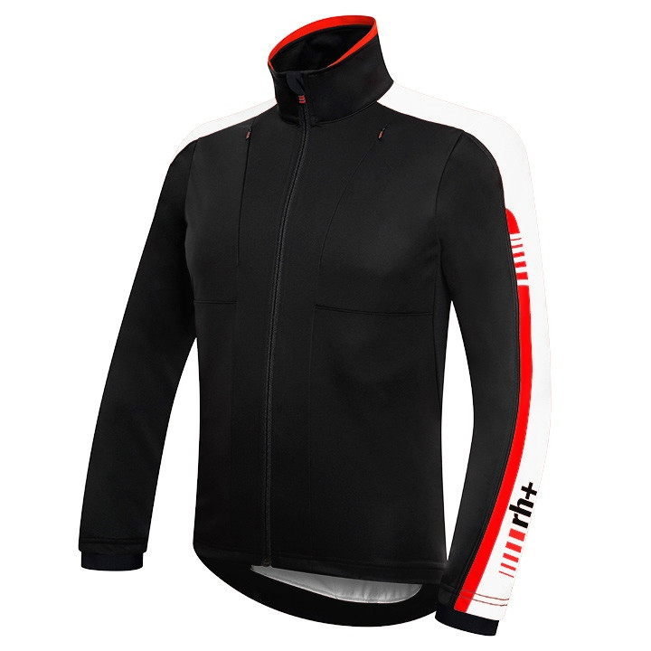 RH+ light jacket Blowy Wind zwart-wit Light Jacket, voor heren, Maat XL,