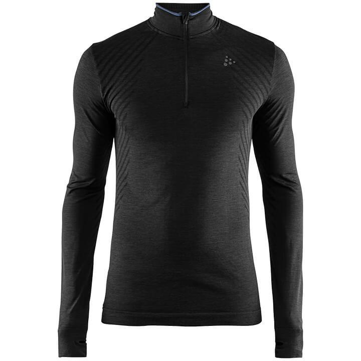 CRAFT FietsFuseknit Comfort Zip onderhemd, voor heren, Maat S, Onderhemd,