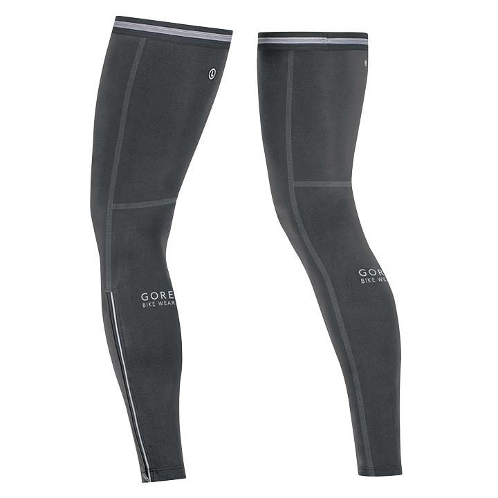 GORE Universal, zwart beenstukken, voor heren, Maat S, Beenwarmer, Wielerkleding
