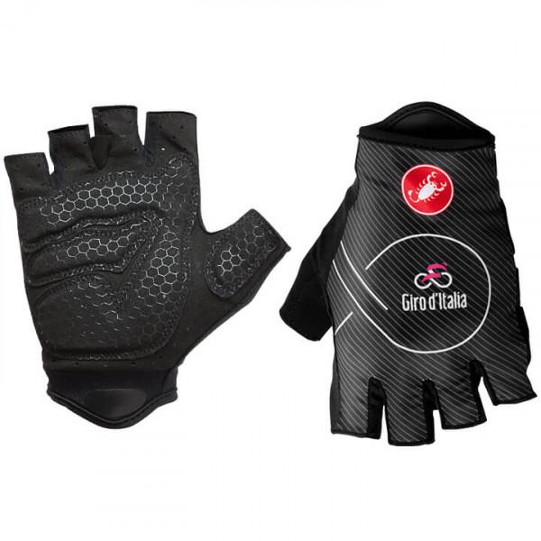 GIRO D'ITALIA Nero Handschuhe 2018