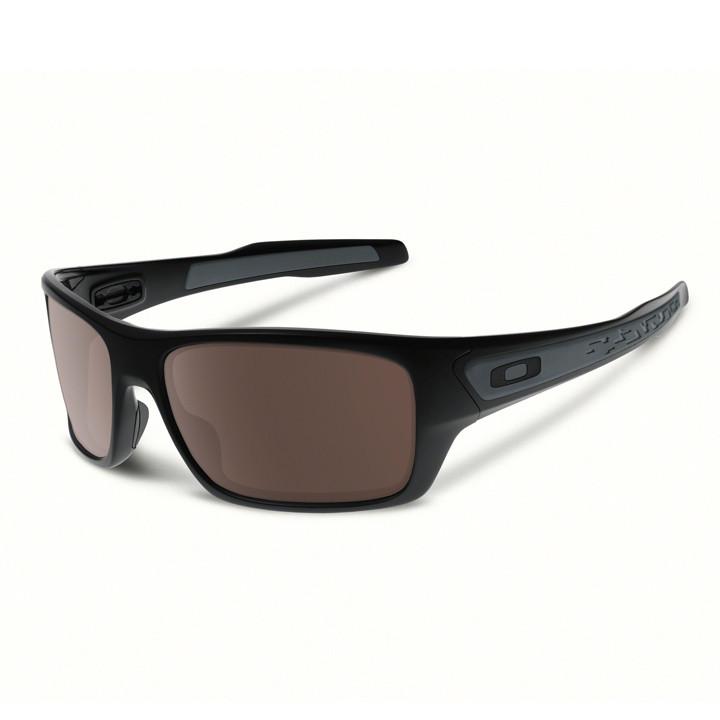 OAKLEY Turbine 2017 polished black zonnebril, Unisex (dames / heren), Sportbril,