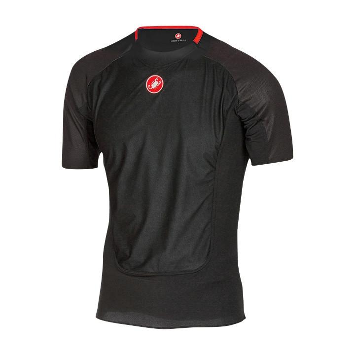 CASTELLI fietsProsecco Wind zwart onderhemd, voor heren, Maat 2XL, Onderhemd,