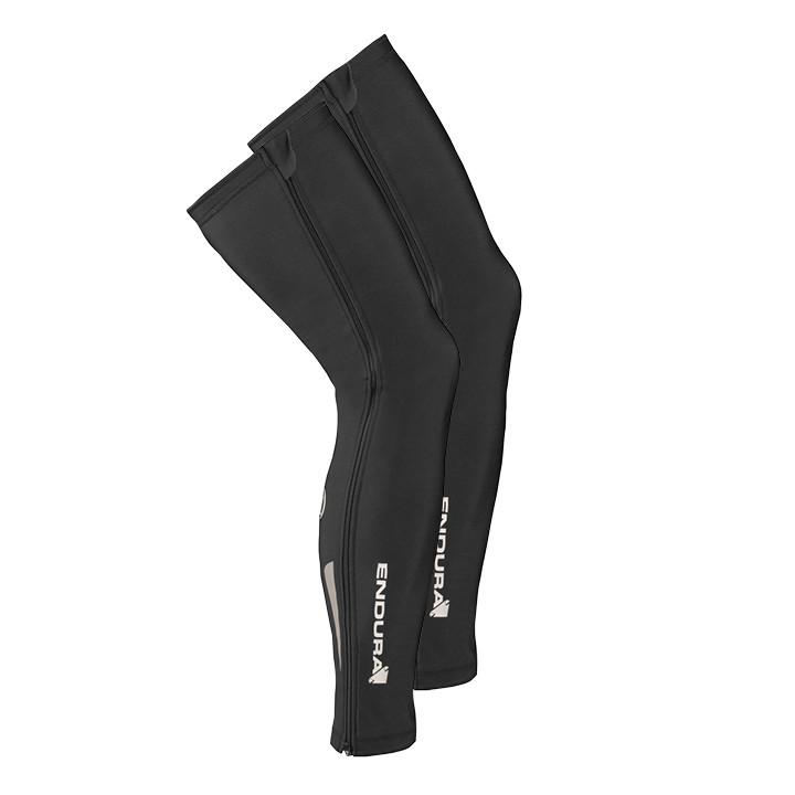 ENDURA Thermolite (ritssluiting) zwart beenstukken, voor heren, Maat S-M, Beenwa