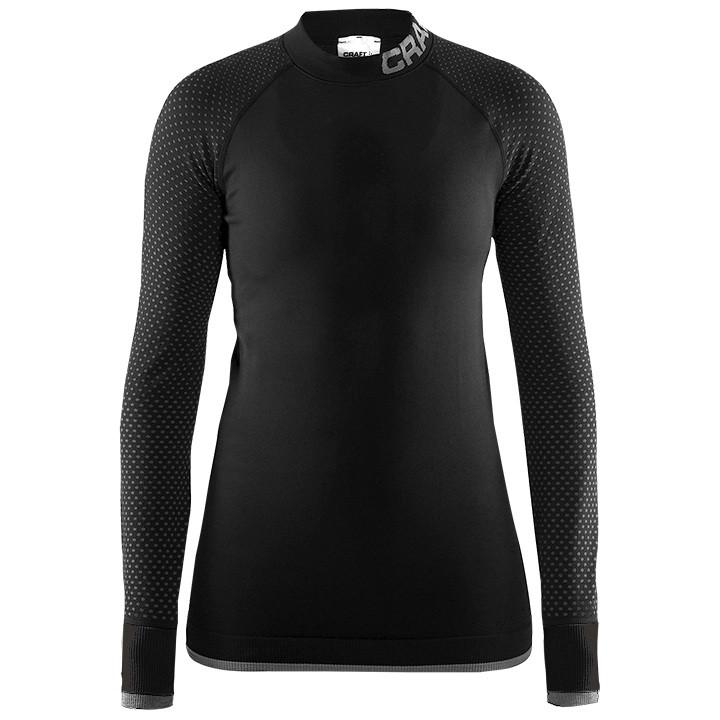CRAFT Dames fietsonderhemd met lange mouwen Warm Intensity, Maat M, Onderhemd, W
