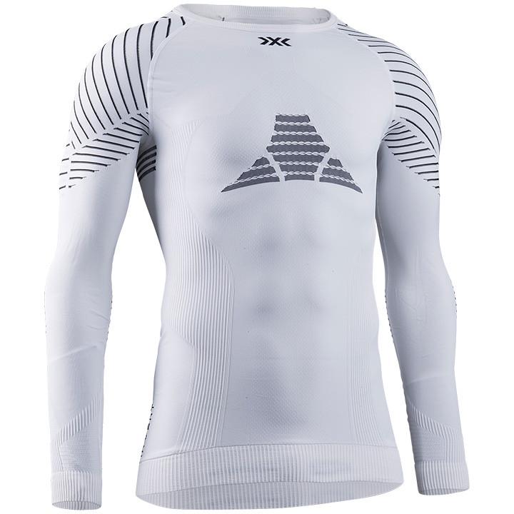 X-BIONIC Fietsmet lange mouwen Invent 4.0 onderhemd, voor heren, Maat M, Onderhe