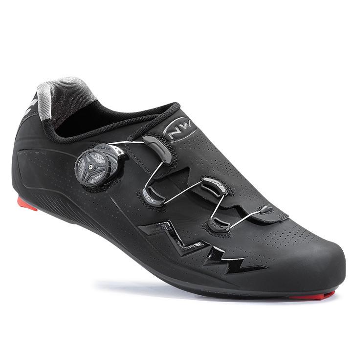 NORTHWAVE racefietsschoen Flash Carbon 2017 zwart raceschoenen, voor heren, Maat