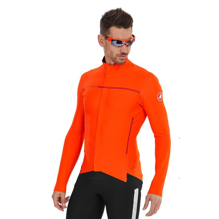 CASTELLI Perfetto Light Jacket, voor heren, Maat M, Fietsjas, Fietskleding
