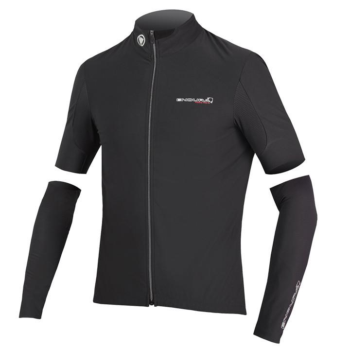 ENDURA Pro zwart Light Jacket, voor heren, Maat M, Fietsjas, Fietskleding