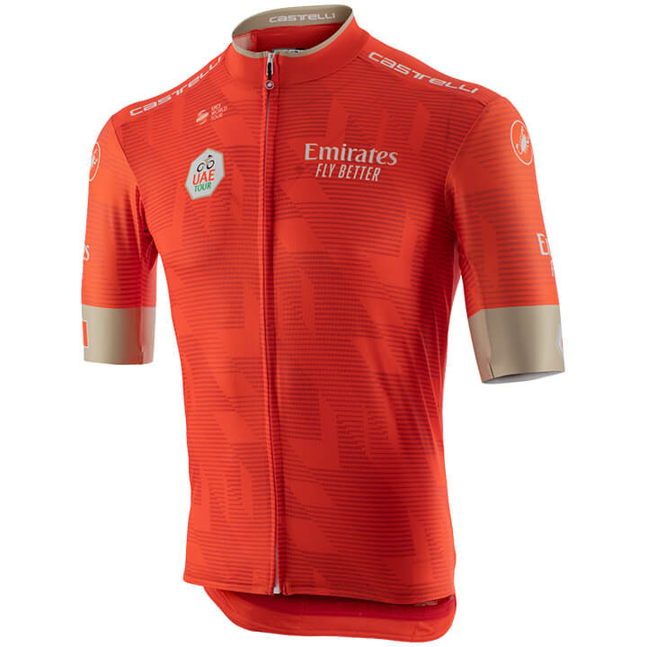 UAE TOUR fietsshirt met korte mouwen 2020, voor heren, Maat 2XL, Fiets shirt, Wi