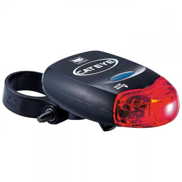 CatEye Tl-LD260G Achterlicht Kleur: black-red