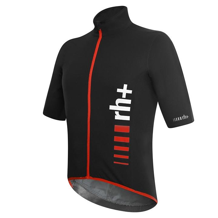 rh+ light jacket met korte mouwen Speed Rain zwart-rood Light Jacket, voor heren