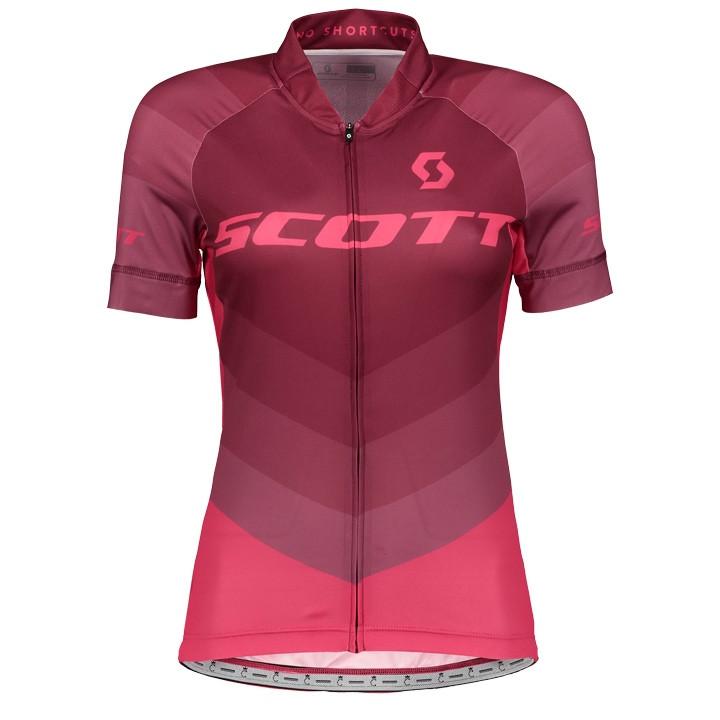 SCOTT Damesshirt RC Pro damesfietsshirt, Maat XL, Wielershirt,