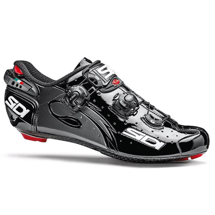 SIDI racefietsschoenen Wire Carbon zwart raceschoenen, voor heren, Maat 47, Race