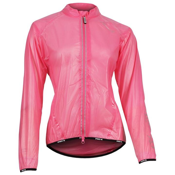 PRO-X dames regenjack Giulia pink damesregenjack, Maat 36, Regenjas,