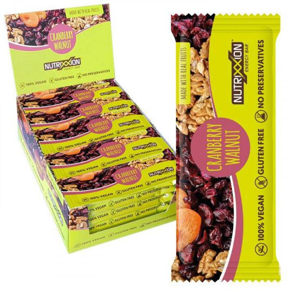 Barre Energy Bar vegan Cranberry Walnut