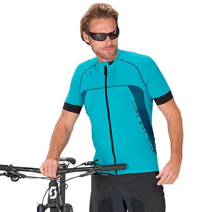 GORE Alp-X Pro fietsshirt met korte mouwen, voor heren, Maat M, Fietsshirt,