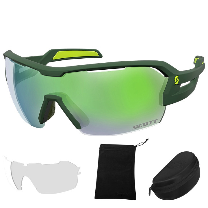 SCOTT brillenset Spur 2018 bril, Unisex (dames / heren), Sportbril,