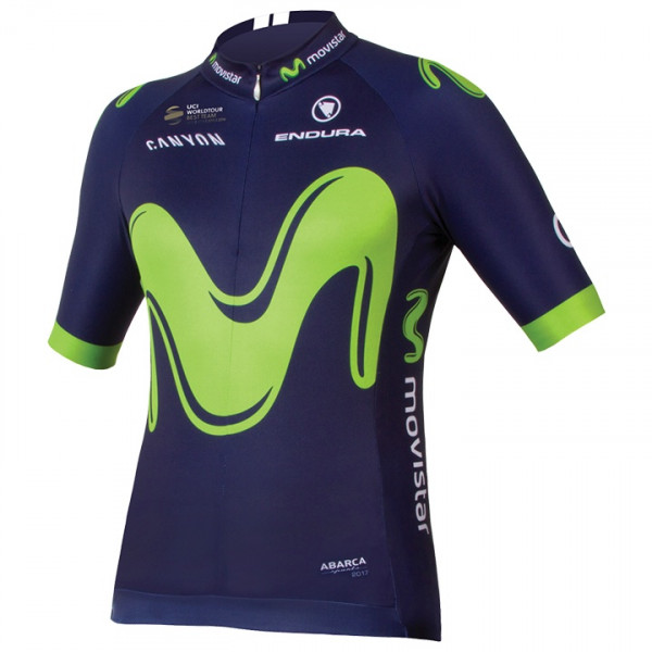 Maillot manches courtes MOVISTAR TEAM 2017