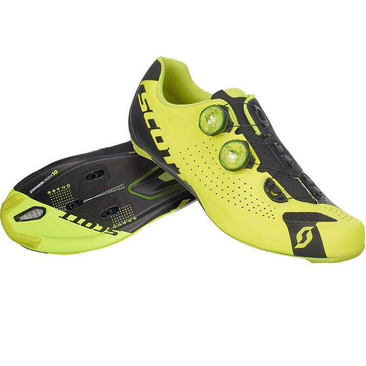 SCOTT racefietsschoenen Road RC neongeel-zwart raceschoenen, voor heren, Maat 47