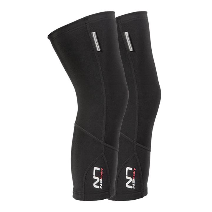 NALINI PRO Nanodry zwart kniestukken, voor heren, Maat XL, Kniewarmer, Wielerkle