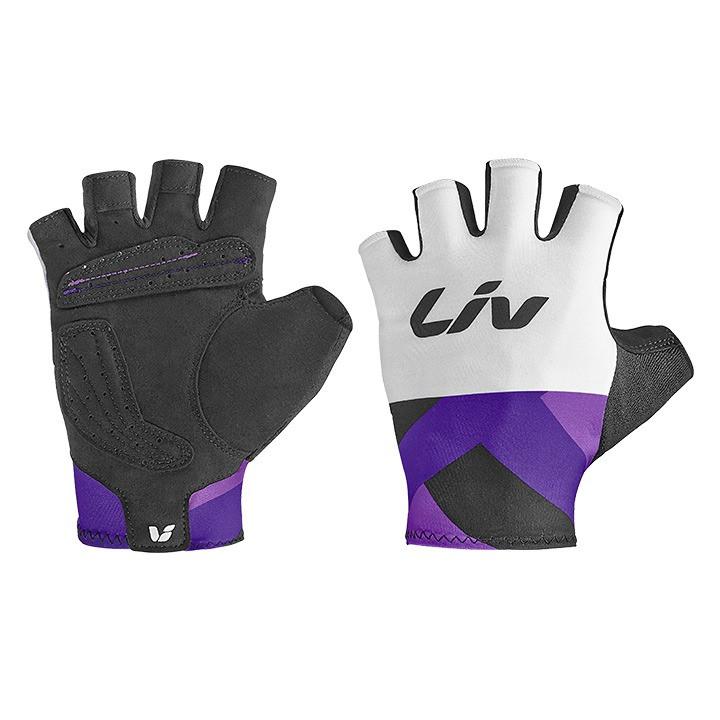 LIV korte dames handschoenen Race Day dameshandschoenen, Maat S,