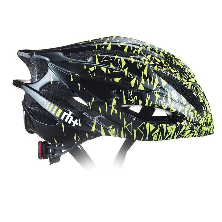 rh+ RaceZW0 fietshelm, Unisex (dames / heren), Maat L-XL