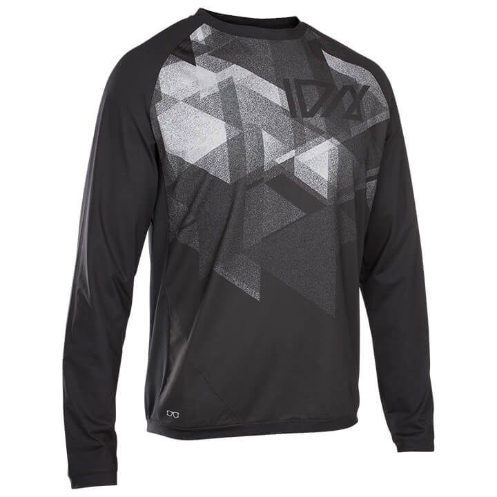 ION Fietsshirt met lange mouwen Traze AMP bikeshirt, voor heren, Maat L, Fietssh