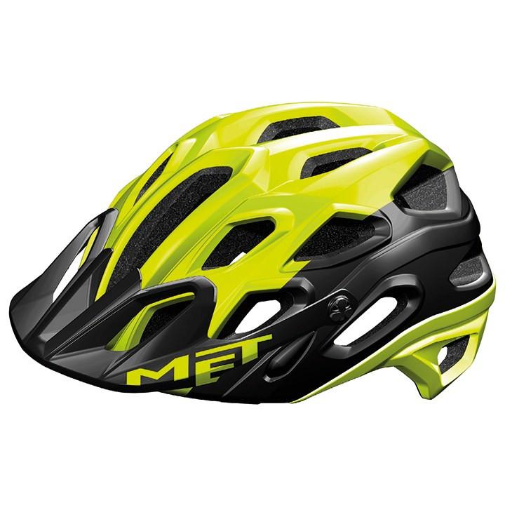 MET MTB-helm Lupo MTB-Helm, Unisex (dames / heren), Maat L, Fietshelm, Fietsacce