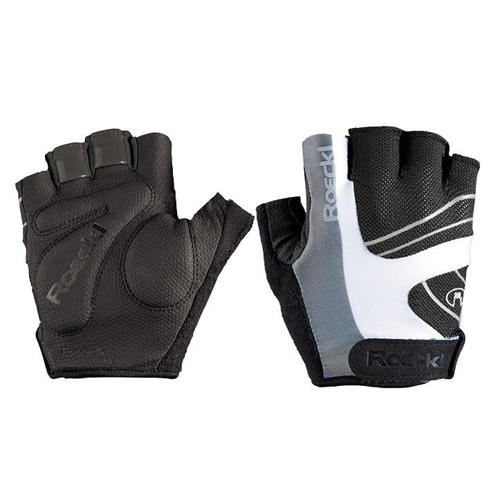 ROECKL Bagwell, zwart-wit handschoenen, voor heren, Maat 7, Fietshandschoenen, W
