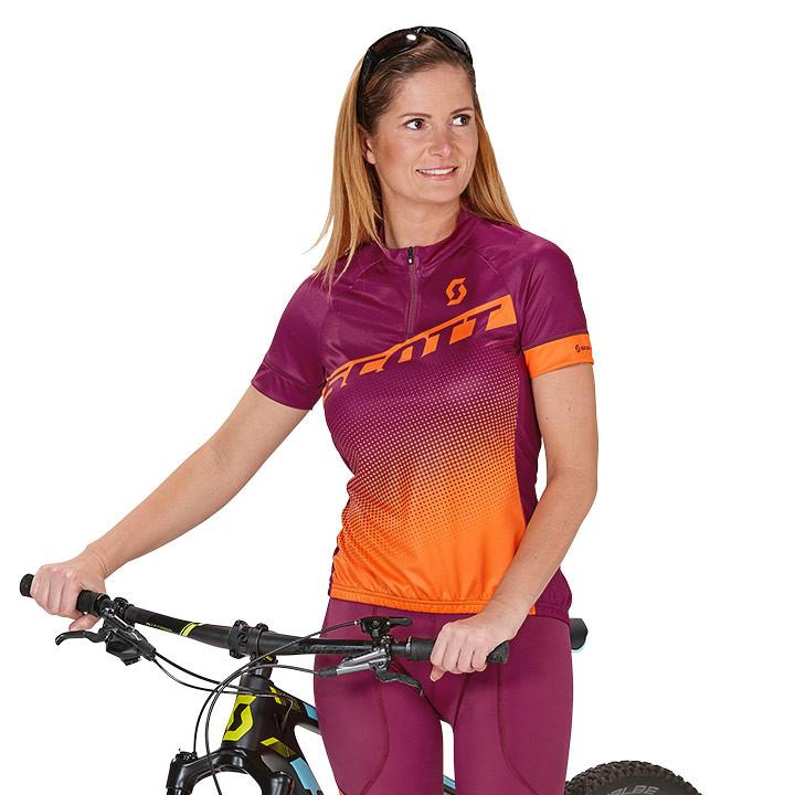 SCOTT damesshirt Endurance 40 damesfietsshirt, Maat S, Fietsshirt,