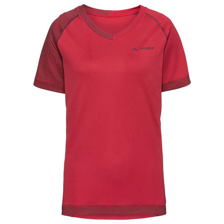 VAUDE dames bikeshirt Moab III damesfietsshirt, Maat 38, Wielrenshirt,