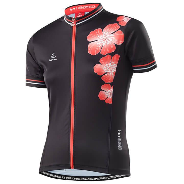 LÖFFLER Damesshirt HotBOND damesfietsshirt, Maat 36, Fiets shirt,