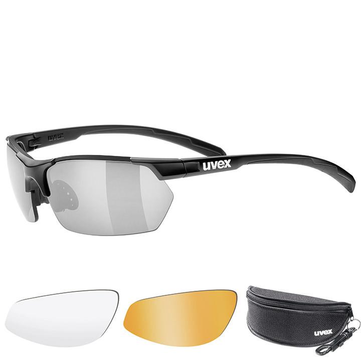 UVEX brillenset Sportstyle 114 2018 bril, Unisex (dames / heren), Sportbril,