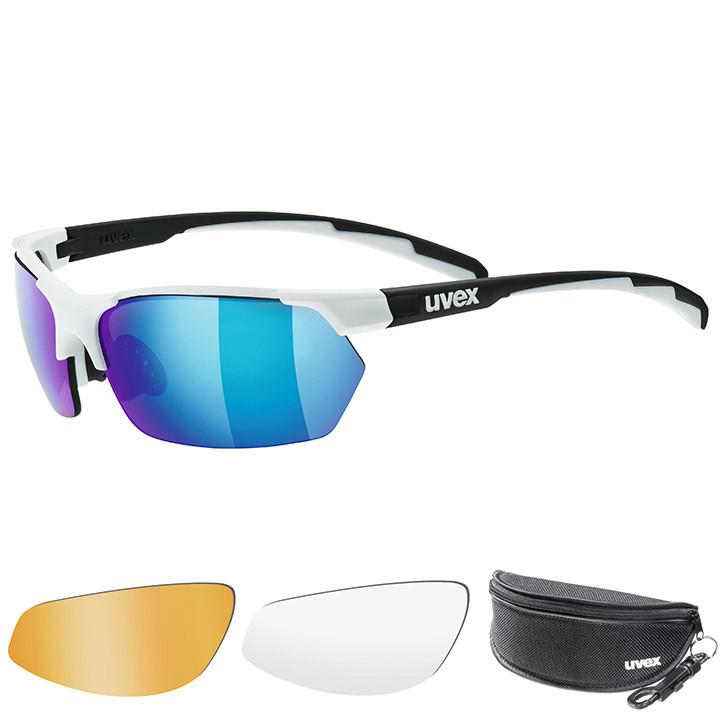 UVEX brillenset Sportstyle 114 2020 bril, Unisex (dames / heren), Sportbril, Fie