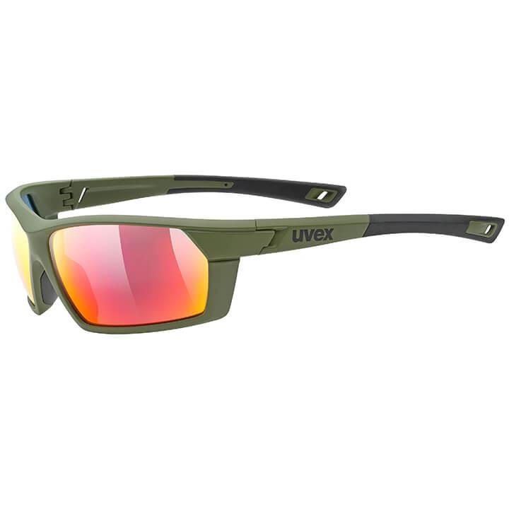 UVEX FietsSportstyle 225 2020 sportbril, Unisex (dames / heren), Sportbril, Fiet