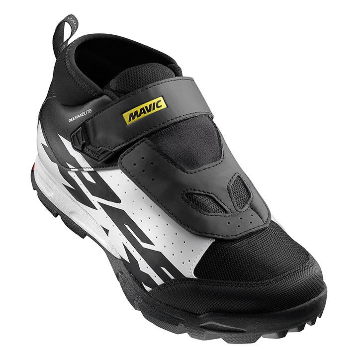 MAVIC Deemax 2017 zwart MTB-schoenen, voor heren, Maat 8, Mountainbike schoenen,