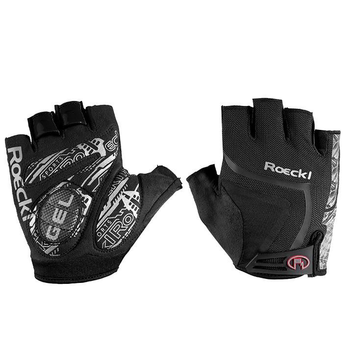 ROECKL Isaga, zwart handschoenen, voor heren, Maat 7,5, Fietshandschoenen, Wiele